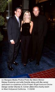 "Charles S. Cohen, Camille, Kelsey Grammer""Divine Design Gala - 8th Annual,"" 11/30/00. © 2000 Glenn Weiner - Image 17334_0105"