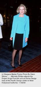 """Michelle Phillips""""Divine Design Gala - 8th Annual,"""" 11/30/00. © 2000 Glenn Weiner - Image 17334_0107"""