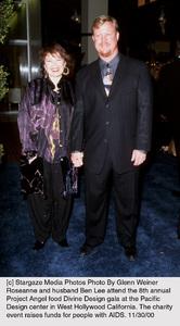 "Roseanne, husband Ben Lee""Divine Design Gala - 8th Annual,"" 11/30/00. © 2000 Glenn Weiner - Image 17334_0108"