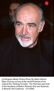 "Sean Connery""Finding Forrester"" Premiere, 12/1/00. © 2000 Glenn Weiner - Image 17336_0100"
