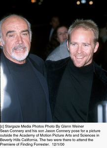 "Sean Connery, son Jason Connery""Finding Forrester"" Premiere, 12/1/00. © 2000 Glenn Weiner - Image 17336_0102"