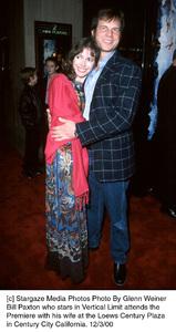 """Bill Paxton, wife Louise Newbury""""Vertical Limit"""" Premiere, 12/3/00. © 2000 Glenn Weiner - Image 17338_0110"""
