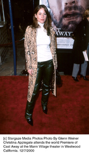"Christina Applegate""Cast Away"" Premiere, 12/7/00. © 2000 Glenn Weiner - Image 17345_0116"