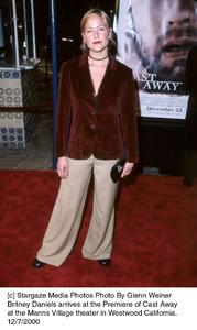 "Britney Daniels""Cast Away"" Premiere, 12/7/00. © 2000 Glenn Weiner - Image 17345_0117"