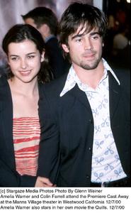 "Amelia Warner, Colin Farrell""Cast Away"" Premiere, 12/7/00. © 2000 Glenn Weiner - Image 17345_0118"