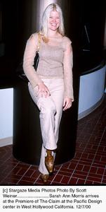 "Sarah Ann Morris""Claim, The"" Premiere, 12/7/00. © 2000 Scott Weiner - Image 17347_0101"