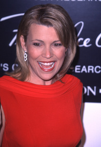 """Vanna White""""Fire And Ice Ball: 10th Annual,"""" 12/11/00. © 2000 Glenn Weiner - Image 17348_0003"""