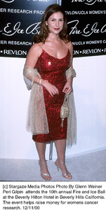 """Peri Gilpin""""Fire And Ice Ball: 10th Annual,"""" 12/11/00. © 2000 Glenn Weiner - Image 17348_0100"""