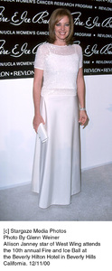 """Allison Janney""""Fire And Ice Ball: 10th Annual,"""" 12/11/00. © 2000 Glenn Weiner - Image 17348_0109"""