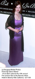 """Thora Birch""""Fire And Ice Ball: 10th Annual,"""" 12/11/00. © 2000 Glenn Weiner - Image 17348_0111"""