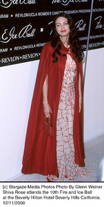 """Shiva Rose""""Fire And Ice Ball: 10th Annual,"""" 12/11/00. © 2000 Glenn Weiner - Image 17348_0113"""