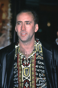 "Nicolas Cage""Family Man, The"" Premiere, 12/12/00. © 2000 Glenn Weiner - Image 17355_0001"