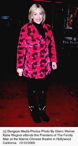 "Katie Wagner""Family Man, The"" Premiere, 12/12/00. © 2000 Glenn Weiner - Image 17355_0106"