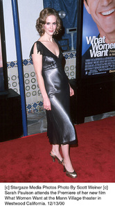 "Sarah Paulson""What Women Want"" Premiere, 12/13/00. © 2000 Scott Weiner - Image 17357_0102"