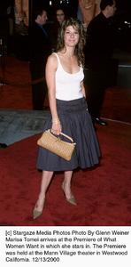 "Marisa Tomei""What Women Want"" Premiere, 12/13/00. © 2000 Glenn Weiner - Image 17357_0106"