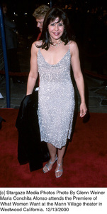 "Maria Conchita Alonso""What Women Want"" Premiere, 12/13/00. © 2000 Glenn Weiner - Image 17357_0107"