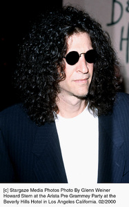 Howard SternArista Pre Grammy Party, 2/2000. © 2000 Glenn Weiner - Image 17360_0100