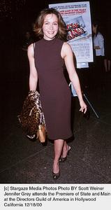 "Jennifer Grey""State And Main"" Premiere, 12/18/00. © 2000 Scott Weiner - Image 17394_0106"