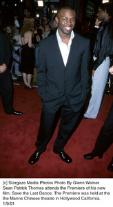 "Sean Patrick Thomasat the ""Save the Last Dance"" Premiere, 1/9/01. © 2001 Glenn Weiner - Image 17527_0101"