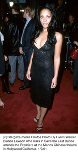 "Bianca Lawsonat the ""Save the Last Dance"" Premiere, 1/9/01. © 2001 Glenn Weiner - Image 17527_0109"