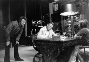 """""""Breezy"""" Director Clint Eastwoonon the set with William Holden and Kay Lenz1973 Universal / **I.V. - Image 1754_0025"""