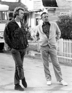 """Breezy""Director Clint Eastwood on the set with William Holden.1973 Universal / **I.V. - Image 1754_0026"