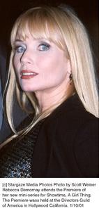 """Rebecca Demornayat """"A Girl Thing"""" Premiere, 1/10/01. © 2001 Scott Weiner - Image 17543_0102"""