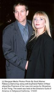 Rebecca Demornay, boyfriend Patrick O