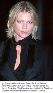 "Peta Wilsonat ""A Girl Thing"" Premiere, 1/10/01. © 2001 Scott Weiner - Image 17543_0104"