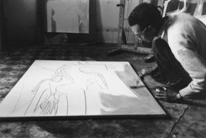 Wifredo Lam in Cuba 1950 © 2000 Mark Shaw - Image 17546_0003