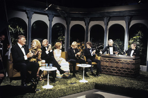 """The Tonight Show""John Wayne, Ann-Margret, Harvey Korman, Sandy Duncan, Johnny Carson 1972© 1978 David Sutton - Image 1755_0008"