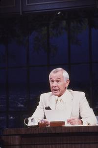 """Tonight Show, The""Johnny Carson1984 NBC © 1984 Gene TrindlMPTV - Image 1755_0023"