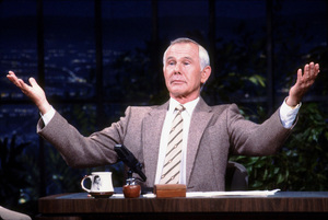 """Tonight Show, The""Johnny Carson1984 NBC © 1984 Gene TrindlMPTV - Image 1755_0026"