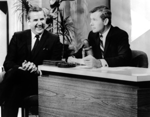 """The Tonight Show Starring Johnny Carson""Ed McMahon, Johnny Carsoncirca 1960s United Press International Photo - Image 1755_0045"