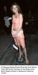 """Tracy Wolfat the """"Two Ninas"""" Premiere, 1/17/01. © 2001 Scott Weiner - Image 17569_0100"""