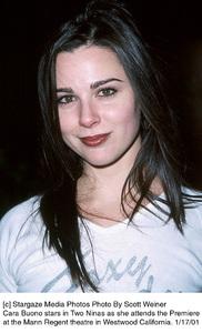 "Cara Buonoat the ""Two Ninas"" Premiere, 1/17/01. © 2001 Scott Weiner - Image 17569_0104"