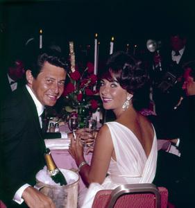 """Aacademy Wards: 32nd Annual""Elizabeth taylor and Eddie Fisher, 1960. © 1978 Bernie Abramson - Image 1757_0005"