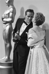 """Academy Awards: 32nd Annual""Charlton Heston, Susan Hayward1960© 1978 Bernie Abramson - Image 1757_0011"
