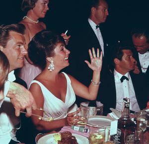 """Academy Awards - 32nd Annual""Robert Wagner, Elizabeth Taylor, Eddie Fisher1960 © 1978 Bernie Abramson - Image 1757_0023"