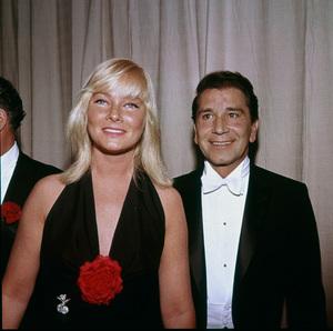"""Academy Awards - 32nd Annual"" May Britt, Richard Conte 1960 © 1978 Bernie Abramson - Image 1757_0048"