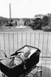John Kennedy Jr. on the balcony of The White House at the Inauguration1961 © 2000 Mark Shaw - Image 17572_0003
