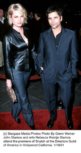 """Rebecca Romijn Stamos, John Stamos""""Snatch"""" Premiere, 1/18/01. © 2001 Glenn Weiner - Image 17573_0100"""