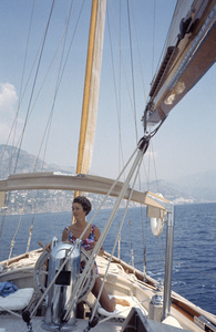 Marcella Caracciolo, wife of Gianni Agnelli in Ravello, Italy1962© 2000 Mark Shaw - Image 17586_0001
