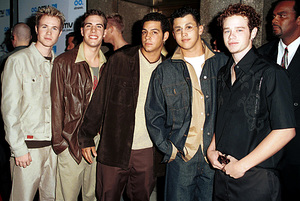 O-Town (Ashley Angel, Dan Miller, Trevor Penick, Erik Estrada, Jacob Underwood)MTV Video Music Awards: 2000 © 2000 Ariel Ramerez - Image 17591_0146