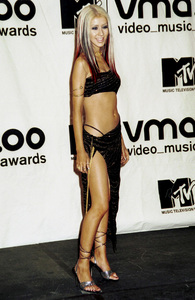 Christina AguileraMTV Video Music Awards: 2000 © 2000 Ariel Ramerez - Image 17591_0167