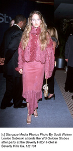 """Leelee Sobieski""""Golden Globe Awards: WB After Party 2001,"""" 1/21/01. © 2001 Scott Weiner - Image 17607_0101"""