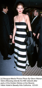 "Debra Messing""Golden Globe Awards: WB After Party 2001,"" 1/21/01. © 2001 Glenn Weiner - Image 17607_0106"