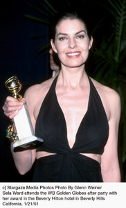 "Sela Ward""Golden Globe Awards: WB After Party 2001,"" 1/21/01. © 2001 Glenn Weiner - Image 17607_0110"
