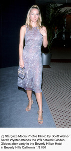 "Sarah Wynter""Golden Globe Awards: WB After Party 2001,"" 1/21/01. © 2001 Scott Weiner - Image 17607_0111"