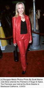 """Julie Benzattends the """"Sugar and Spice"""" Premiere, 1/24/01. © 2001 Scott Weiner - Image 17630_0100"""